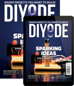 Cover of Diyode Magazine Issue 41: December 2020
